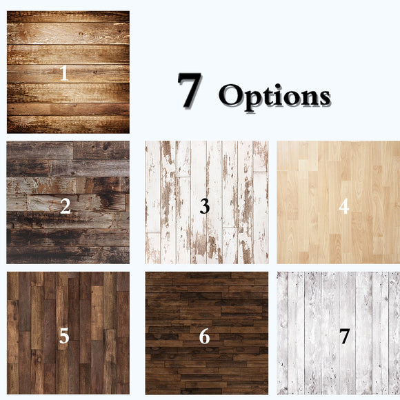 Dark Brown Wood Floor Photography Backdrops for Photographers Studio