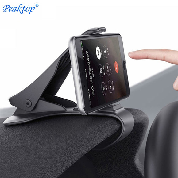 Car Phone Holder Dashboard Mount Cradle Cellphone Clip