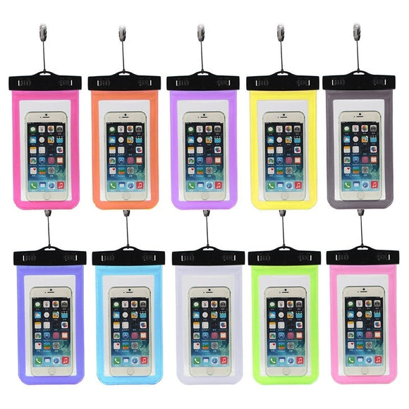 Underwater Phone Pouch Dry Bag Waterproof Case Cover