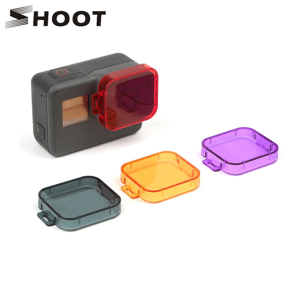 Camera Cover Colors Diving Lens for GoPro