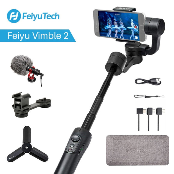 Extendable Handheld Phone Gopro Video Stabilizer