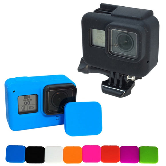 Gopro Accessories Soft Silicone Case Protection lens Cover