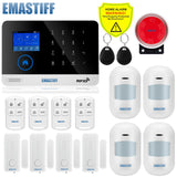 Wireless SIM GSM Home RFID Burglar Security LCD Touch Keyboard
