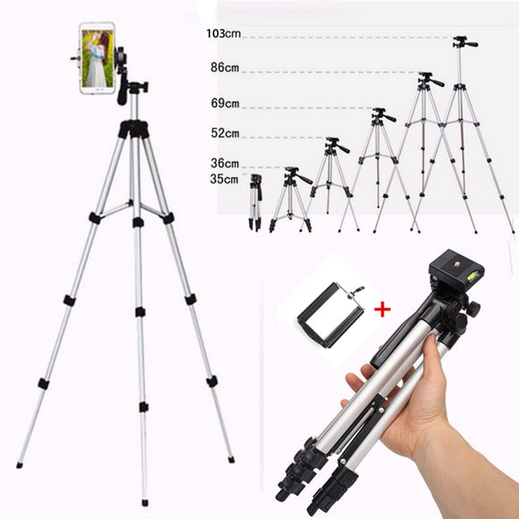 Extendable Mobile Smart Phone & Digital Camera Tripod Stand Mount