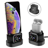 3 in 1 Phone Charging stand Dock Station