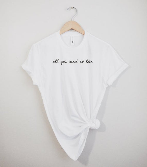 Forever Cultured - All You Need Is Love Tee