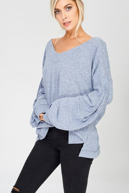 SWEET ON YOU SWEATER- BLUE