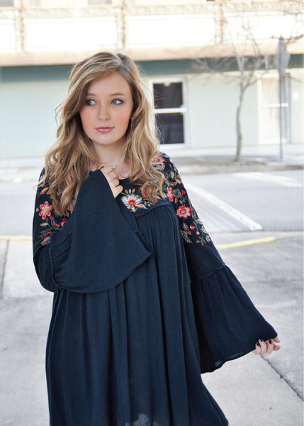 The Bell Tunic- Navy