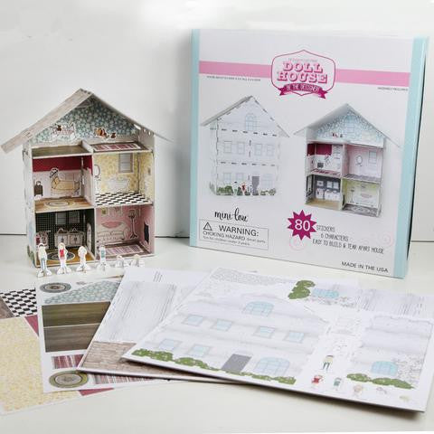 Design Your Own Dollhouse Set
