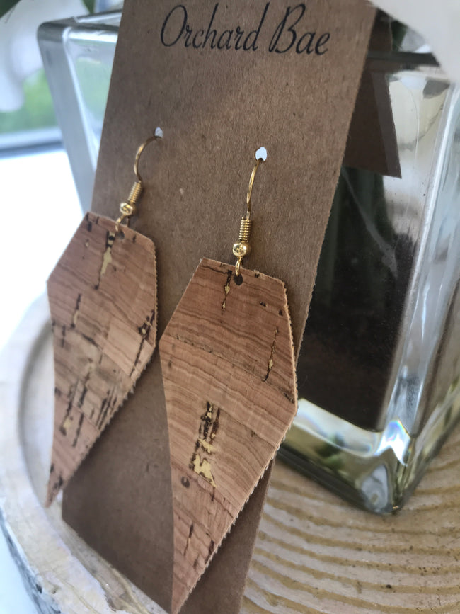 Orchard Bae Sidney leather earring