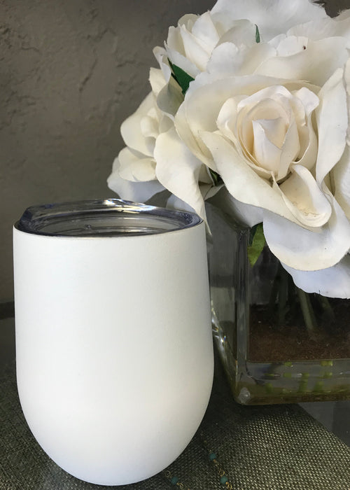 Refresh Wine Tumbler- White