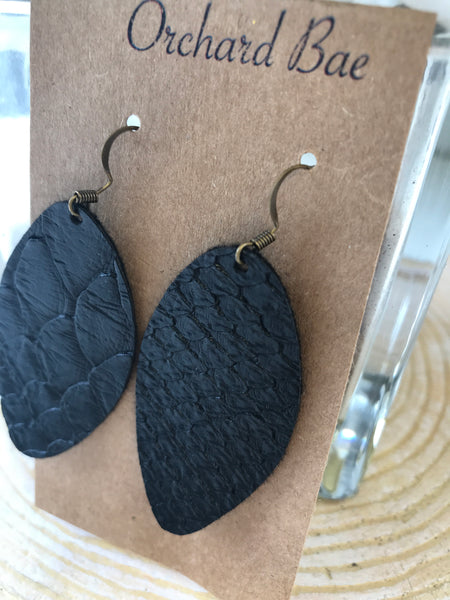 Orchard Bae Shelley Leather Earring