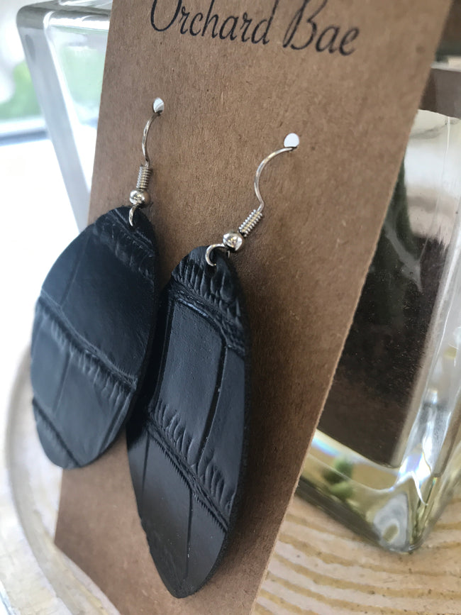 Orchard Bae Addi leather earring