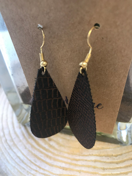 Orchard Bae Monica leather earring