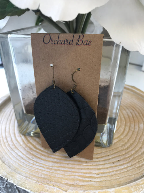 Orchard Bae Summer Leather Earring