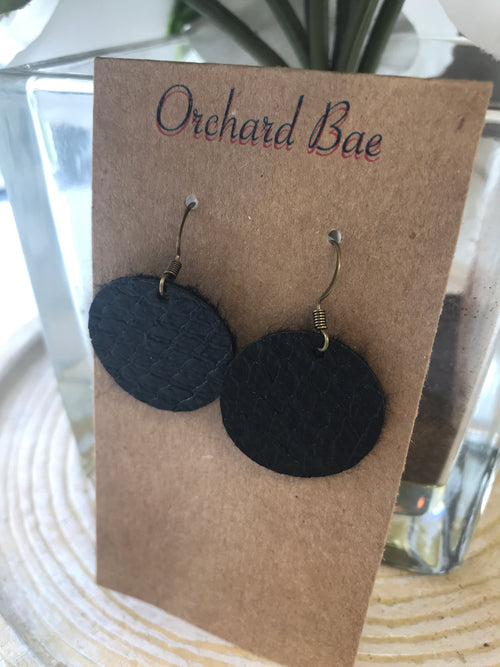 Orchard Bae EMILY leather earring