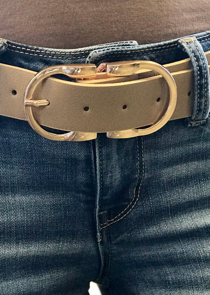 Alaina Double Buckle Belt