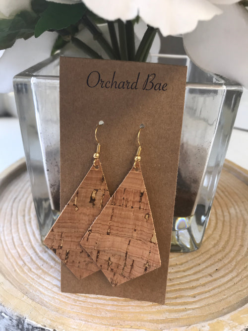 Orchard  Bae Joy leather earring