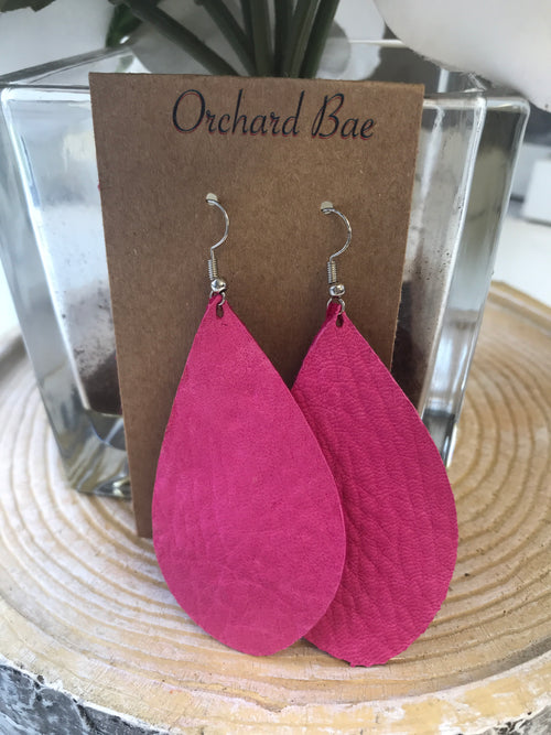 Orchard Bae Barbie leather earring