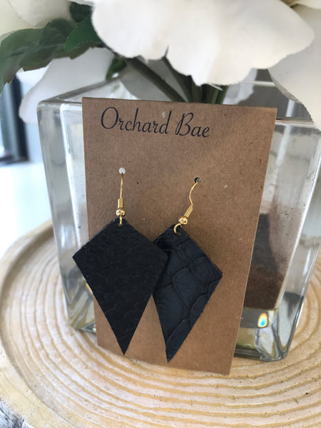 Orchard Bae Katie leather earring