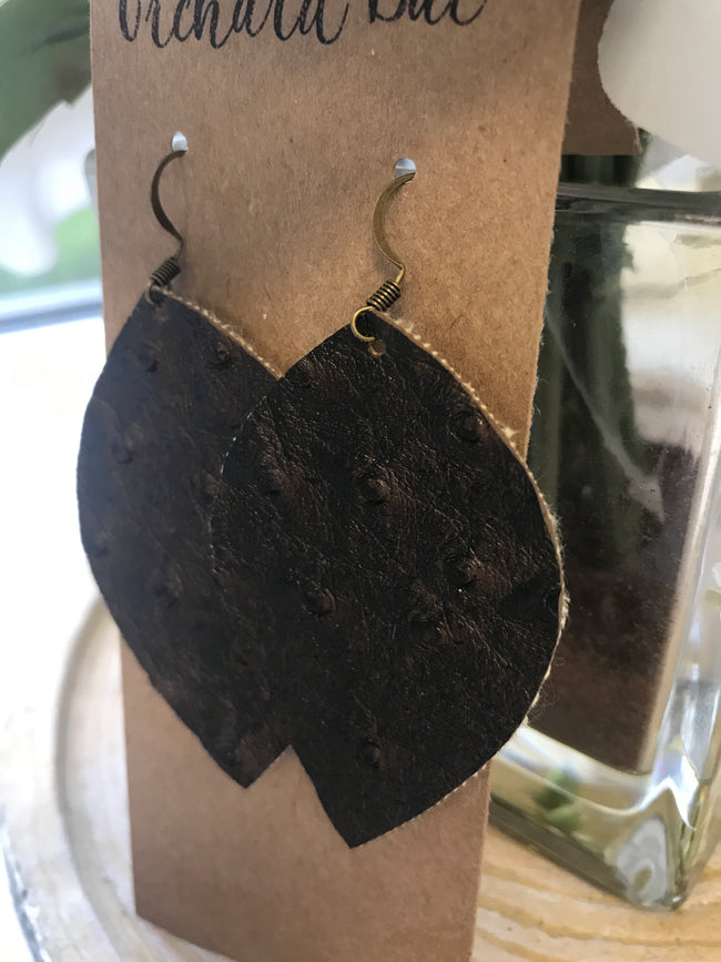 Orchard Bae Tammie leather earring