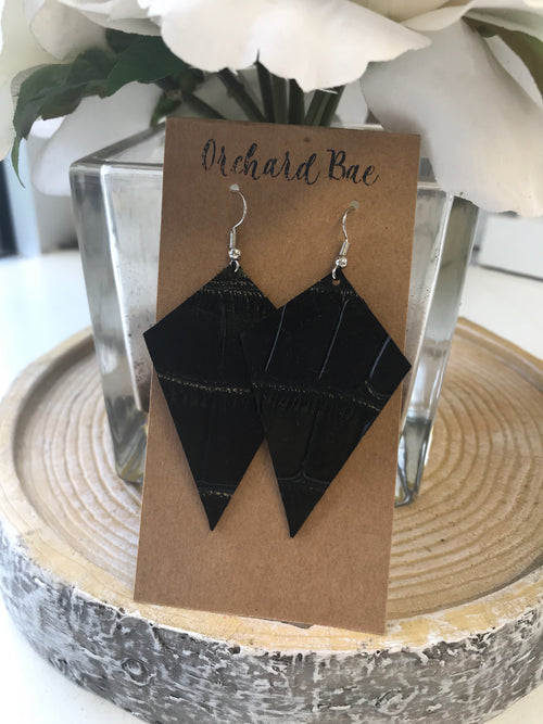 Orchard Bae BROOKE leather earring