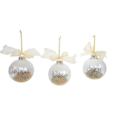 Gold Confetti Ornament