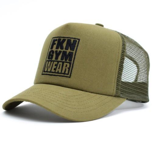 Training Cap & Straps Gym Pack - Khaki, FKN Gym Wear, Khaki Cap