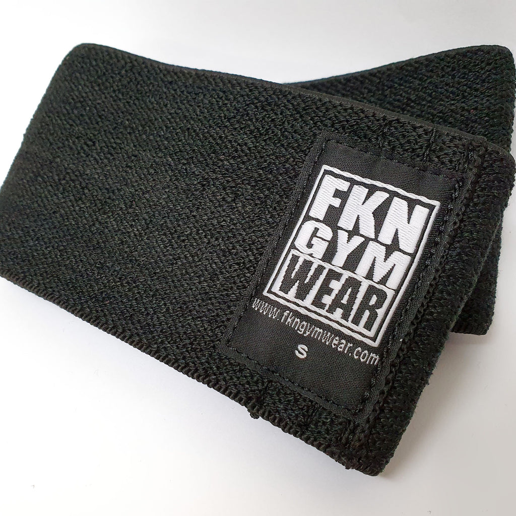 fkn gym wear booty band black