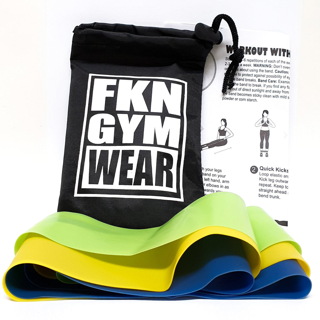 FKN Gym Wear Resistance Bands | 3 Pack - FKN Gym Wear