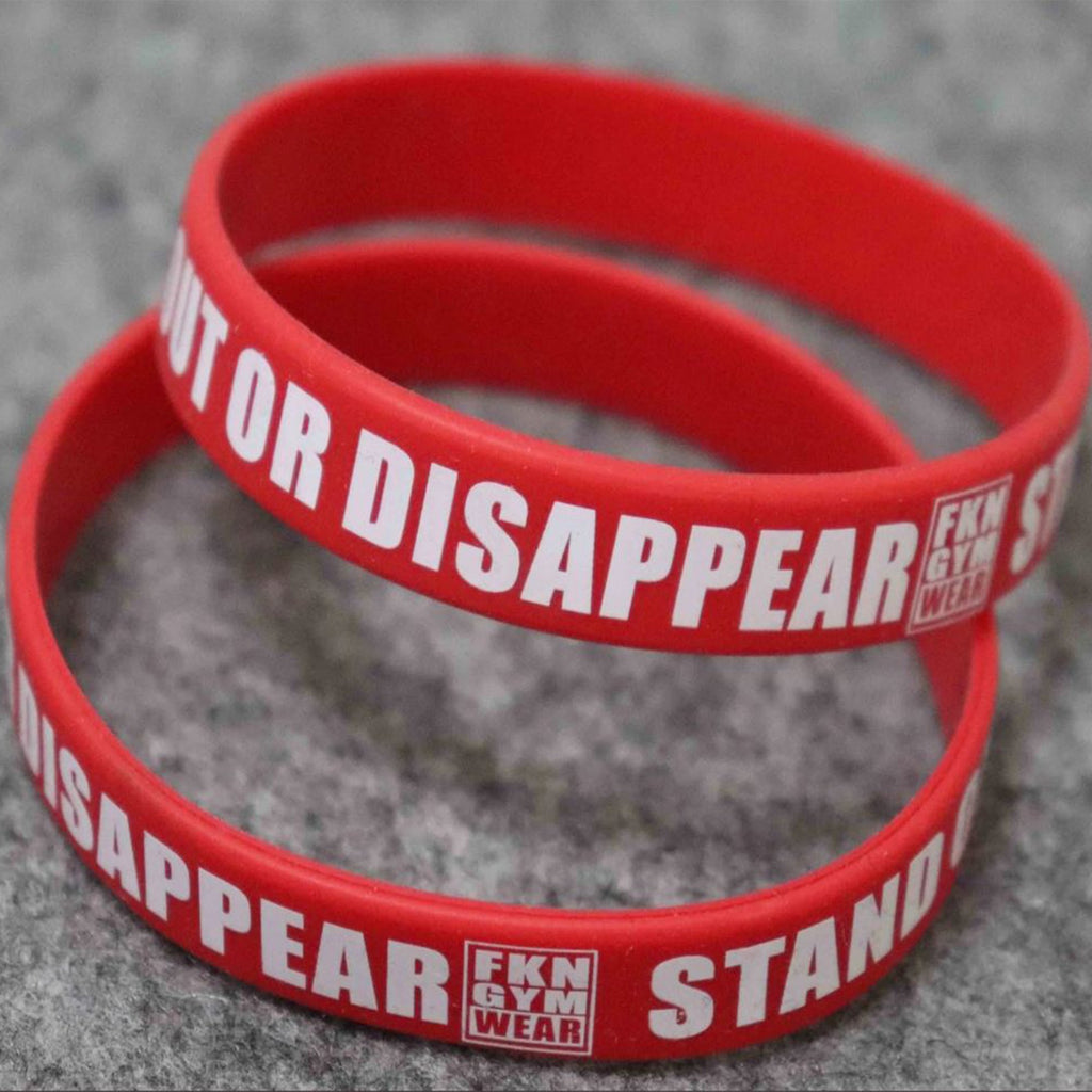 FKN Wristband | Stand Out Or Disappear - FKN Gym Wear