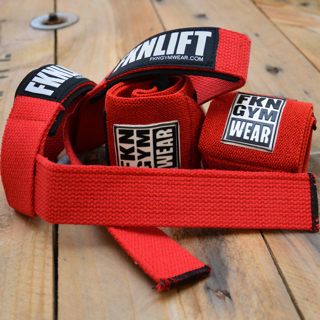 Lifting Straps & Wrist Wraps Pack - FKN Gym Wear