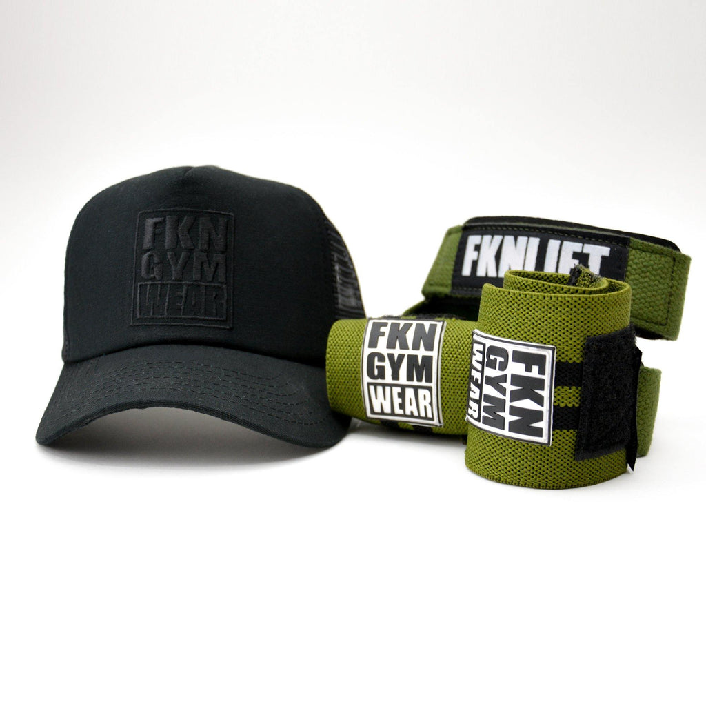 Gym Pack | Straps, Wraps & Cap