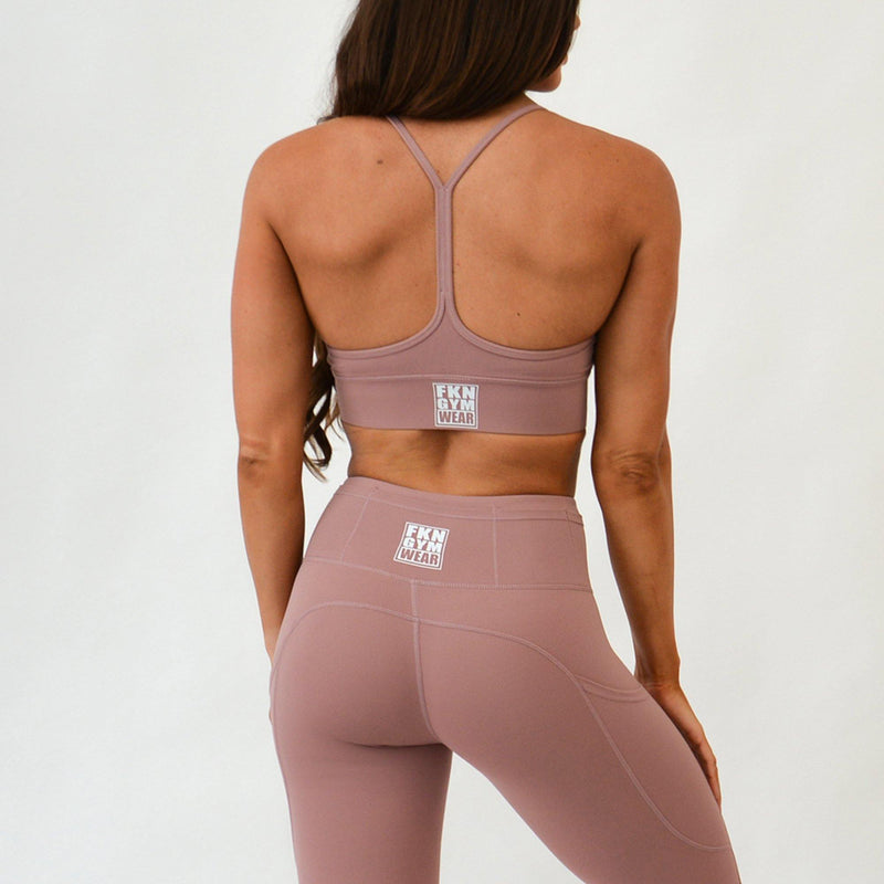 Women's Gym Crop Top | Super Lilac - FKN Gym Wear