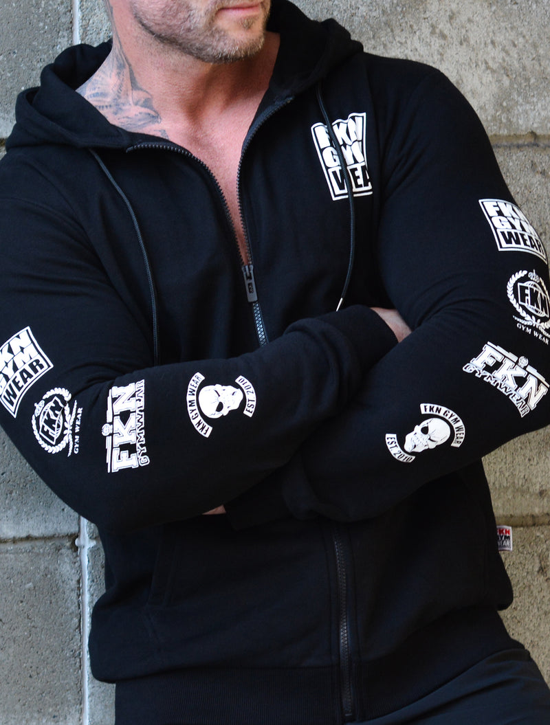 Heist | Men's Zip-Up Gym Hoodie