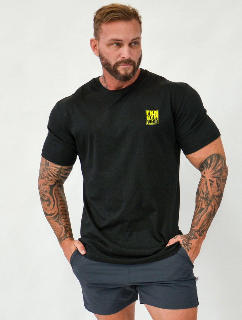 Stone | Men's Gym T-Shirt - FKN Gym Wear
