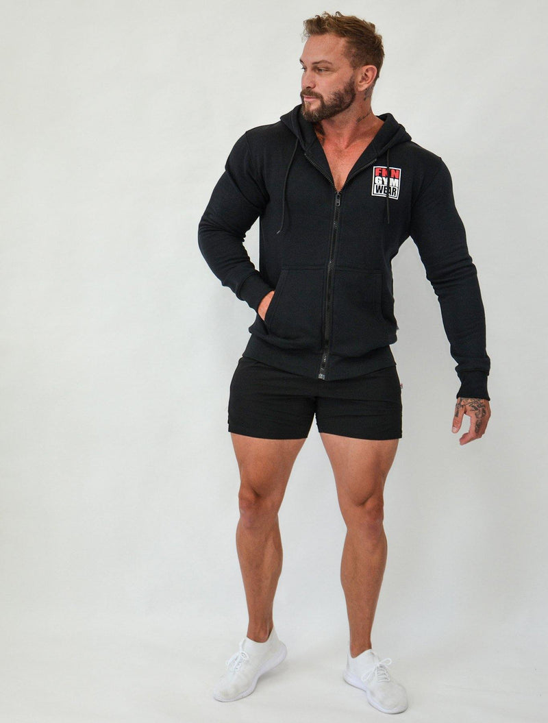 Game | Men's Zip-Up Hoodie - FKN Gym Wear