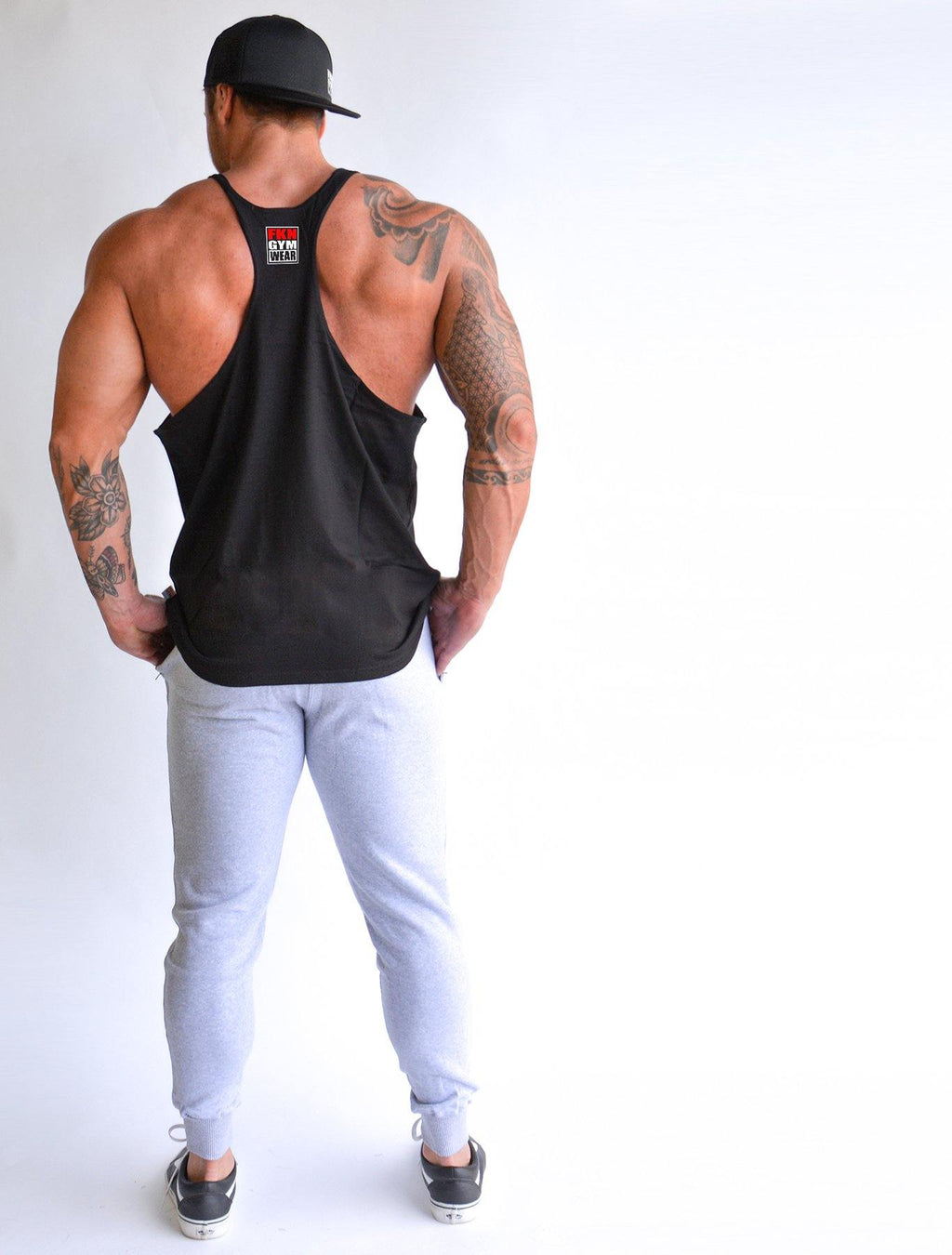 Shred | Alpha Stringer - FKN Gym Wear