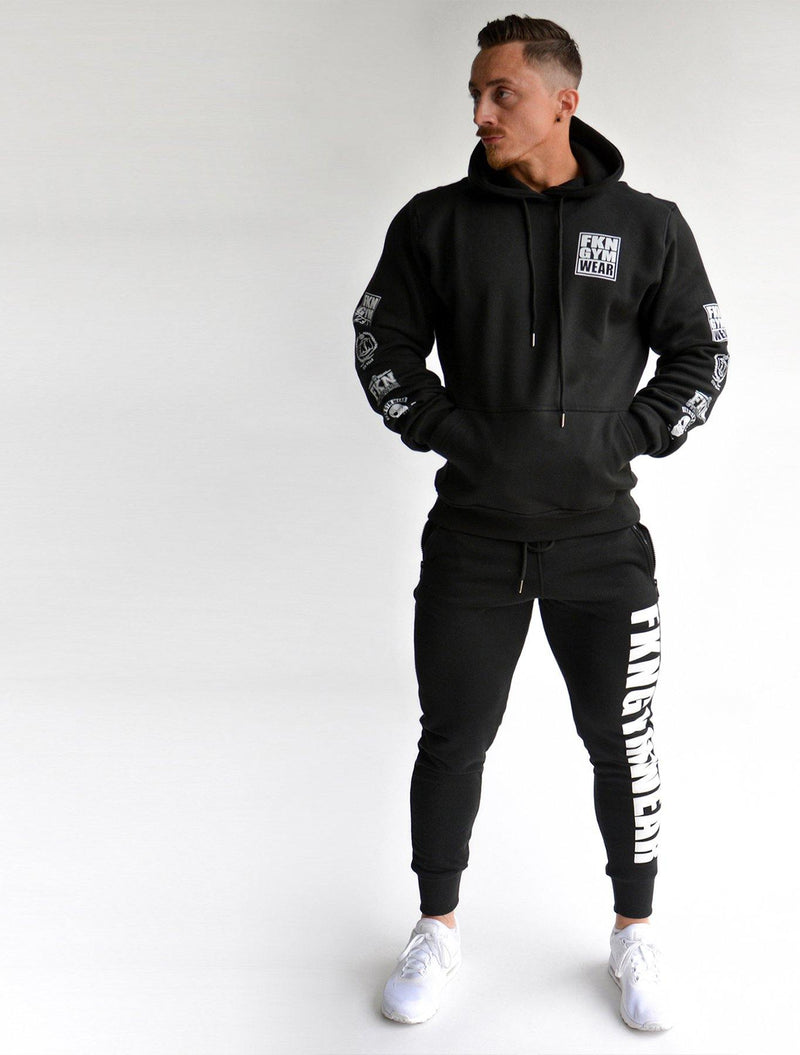 Quadfit | Gym Track Pants - FKN Gym Wear