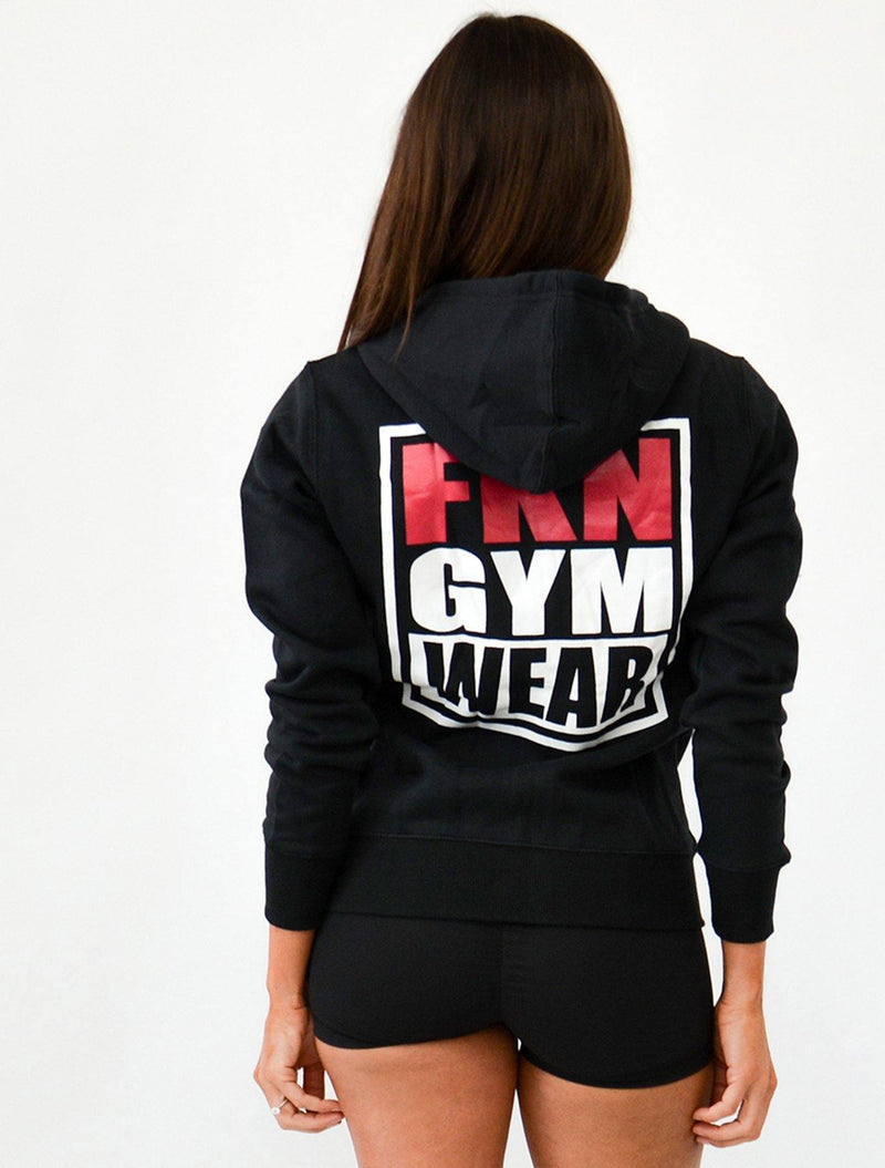 Game | Women's Zip-Up Hoodie - FKN Gym Wear