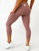 Workout Set | Asset Crop & 7/8 Leggings | Pinkish