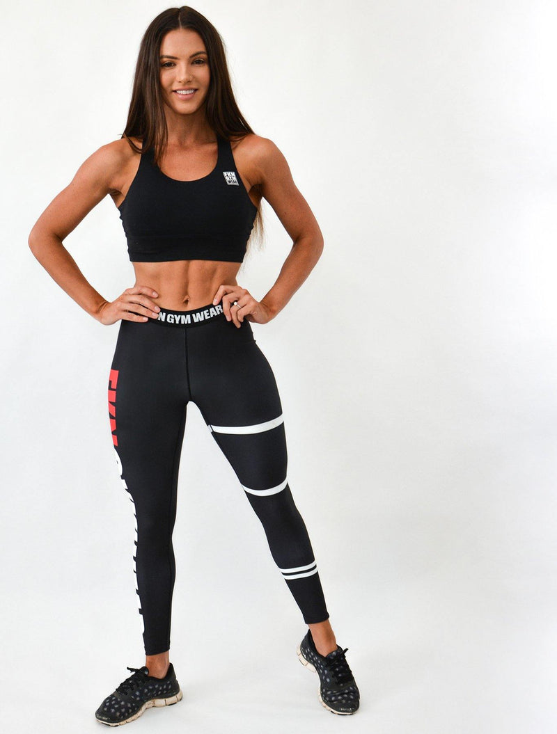 STFO Gym Leggings | Scrunch Bum - FKN Gym Wear