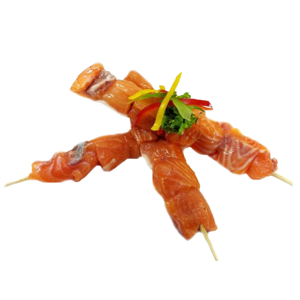 Atlantic Salmon Skewer