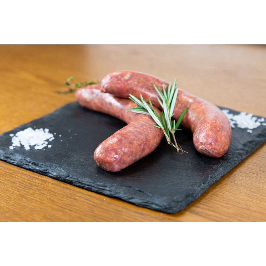 Homemade Butchers Own Beef Sausages
