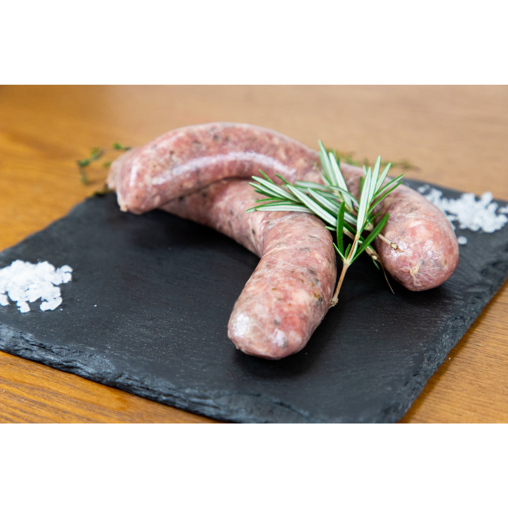 Homemade Cumberland Pork Sausages