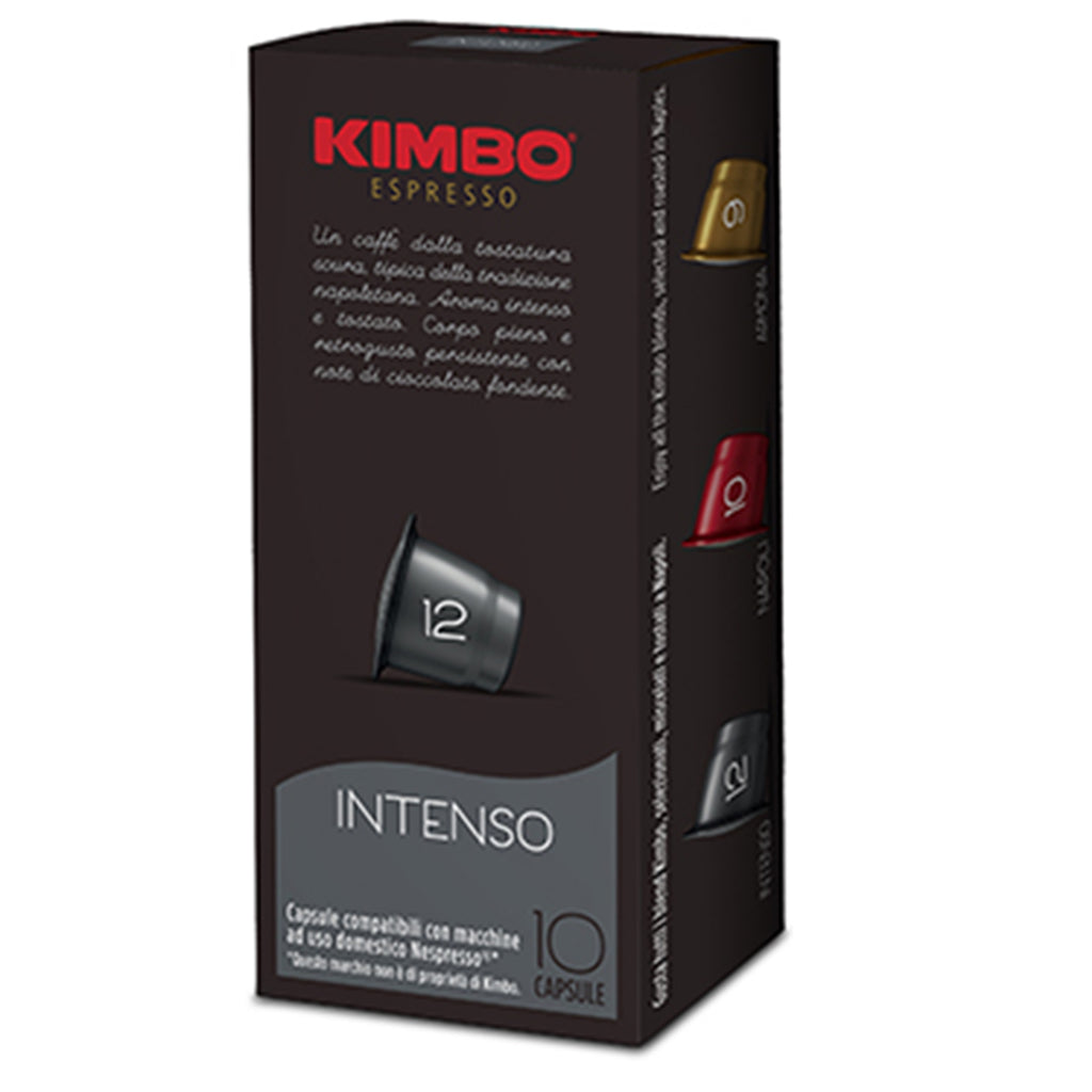 Kimbo Intenso Coffee Capsules - Nespresso® Compatible