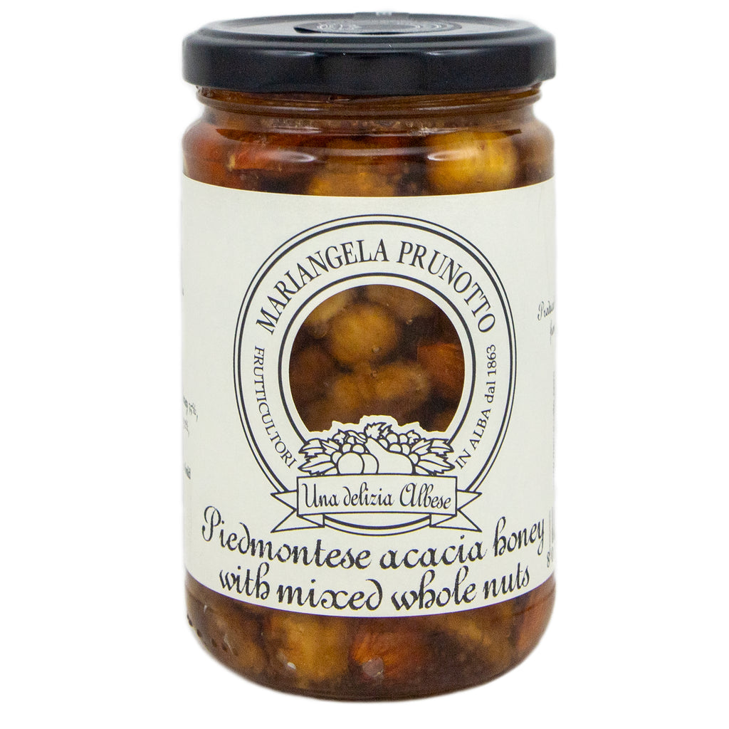 Piedmontese Acacia Honey with Mixed Whole Nuts