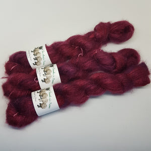 Garnet - KidSilk Lace - Kid Mohair Silk - Lace weight yarn