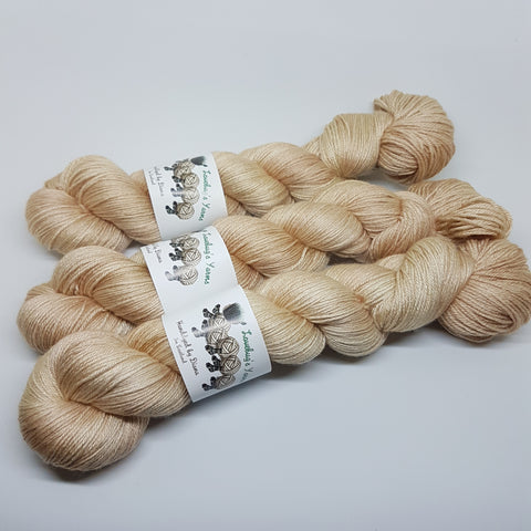 Citrine - MerinoSilk 4ply - Merino Silk - Fingering weight yarn