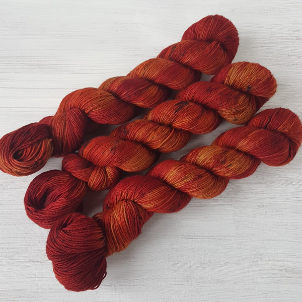 Piri-Piri - Yak Sock - Superwash Merino Nylon Yak - Fingering weight yarn